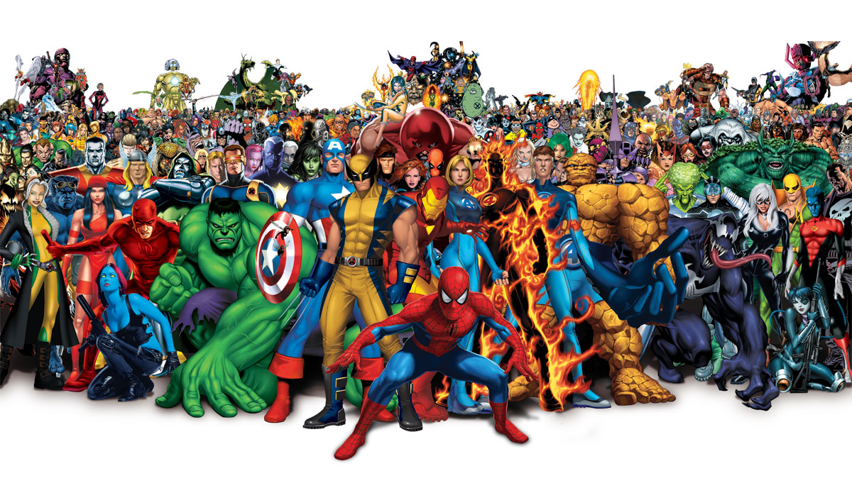 All Marvel Characters